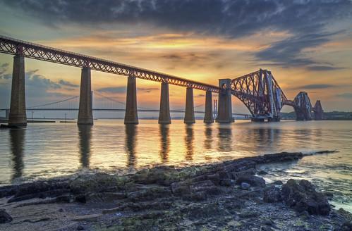Bridges Sunset 4 June 2010