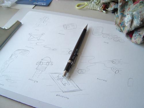 Ilustrações para o novo site do .marcamaria