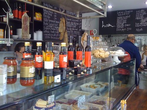 deli window - ham cafe