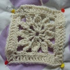 little dahlia aran (by dyedinthewool)