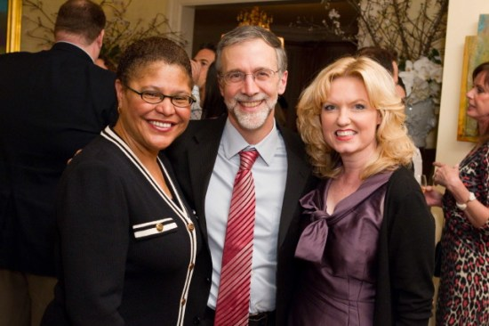 Karen Bass, Michael Piraino, Assembly Member Kathleen Galgiani