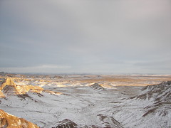 Panorama Overlook: Badlands Sunset