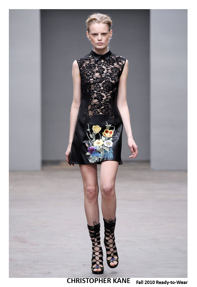 Christopher Kane FALL 2010 - LACE