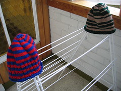 thomas' and kirsty's hats