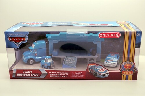 disney CARS Target EXCLUSIVE Team Bumper Save set (1)