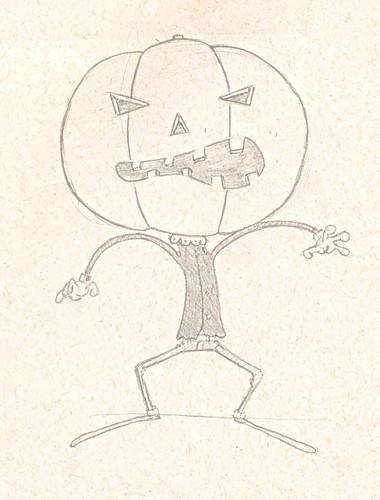 Cabeça de Girimun (Pumpkin head)