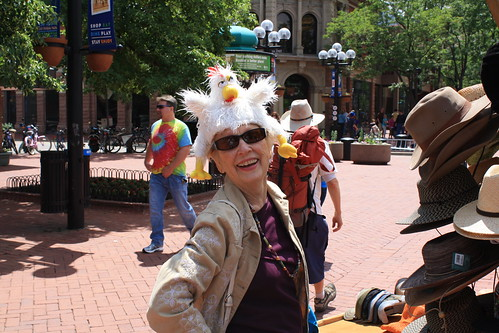 Hat Fun in Boulder, Colorado