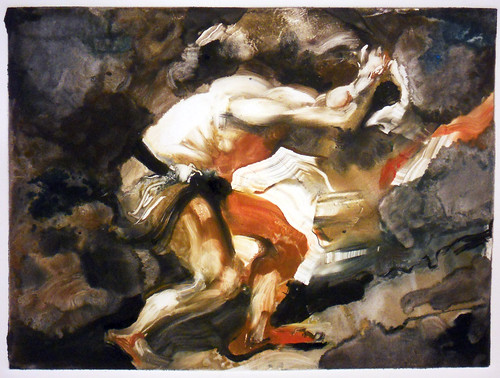 Sisyphus (after Titian)