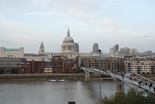 Millenium Bridge and St. Paul's