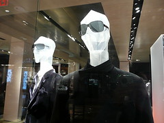 Plastic people, with shades
