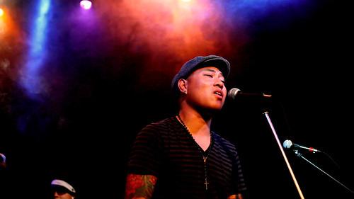 Dave Soul singing at M Studios
