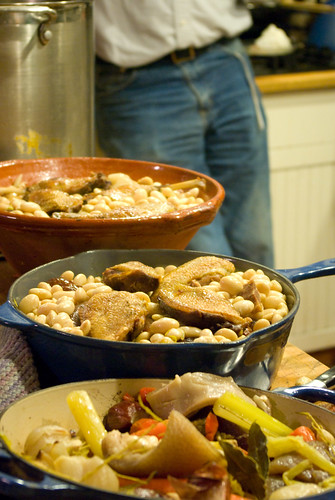 building the cassoulet