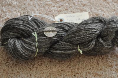 Gotland wool, 2 ply, 138yds.
