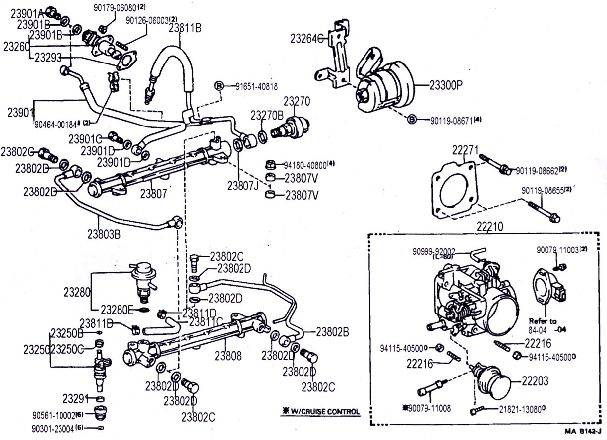 22re Fuel Injection Wiring Diagram 1993 4Runner Fuel