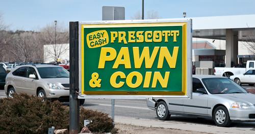 Miller Valley Pawn Shop Sign