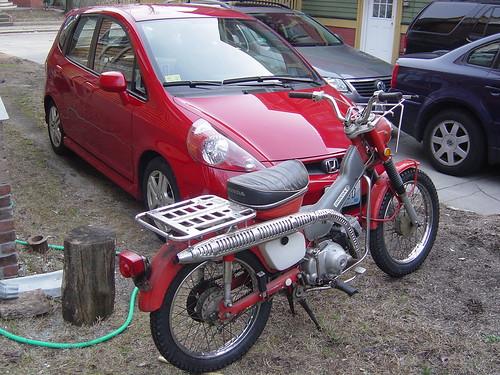 Honda Trail & Honda Fit