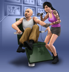 4/16/10 - 4 artworks from The Sims 3 Ambitions cover
