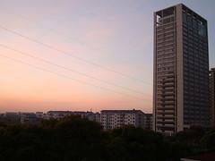 昆山 AM5:00 夜明け