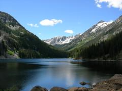 8 Mile Lake in Alpine Lakes