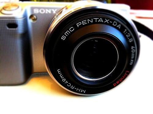 SONY NEX-5 + Pentax DA40mm :-)