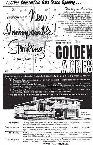 chesterfield builders golden acres opening ad