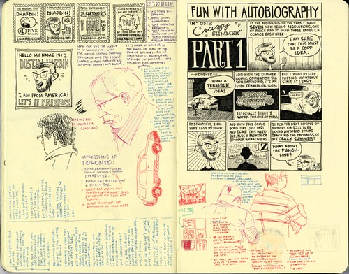SKETCHBOOK SPREAD | Pages 78-79 by DHARBIN!.