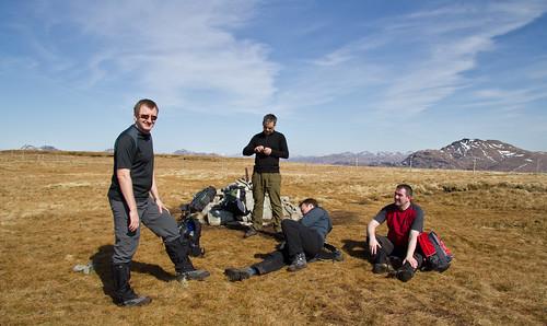 Beinn Dubh Summit