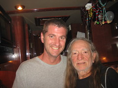 with the one and only Willie Nelson.