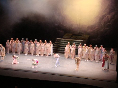 """La Bayadère"":  Taking Their Bows"