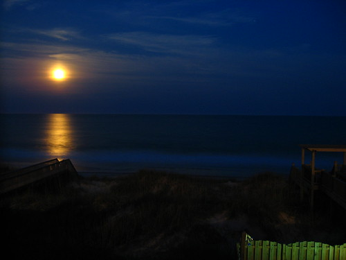 Moonlight at Topsail 1