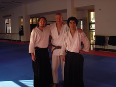 with Ulrich and Shawn from Shanghai Aikido