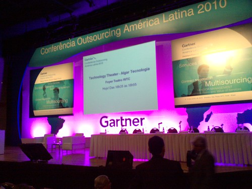 Gartner Outsourcing Summit Brazil 2010
