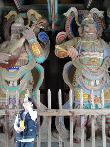 2 of the 4 guardians of Bulguksa Temple