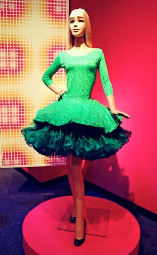 green barbie by betsey johnson