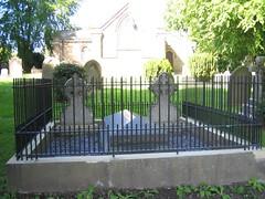 John Vaughans Grave, St Cuthberts Marton