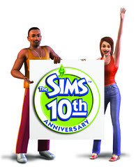 10 render artworks of The Sims 10th Anniversary