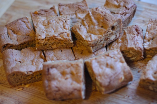 pb blondies