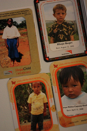 our World Vision kids
