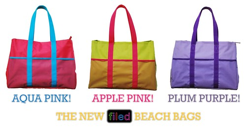 New FILED! Beach Bags