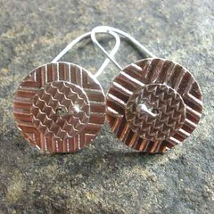Spinner Disk Earrings #5