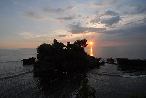 A Magnificent Temple at Tanah Lot