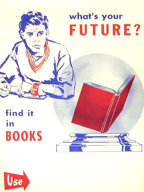RETRO POSTER - What's in Your Future?