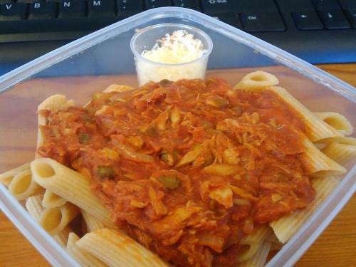 #408 - Tuna and Tomato Pasta