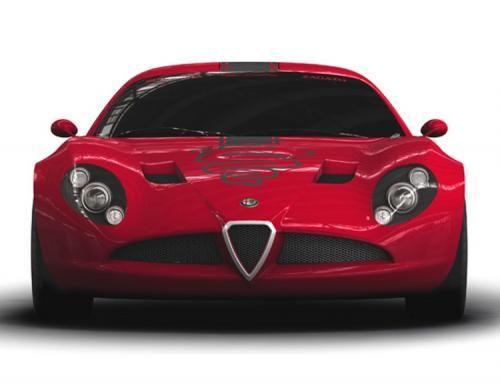 Zagato Alfa Romeo TZ3 Corsa race car teaser