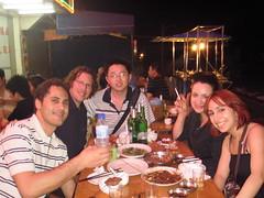Federico's farewell dinner
