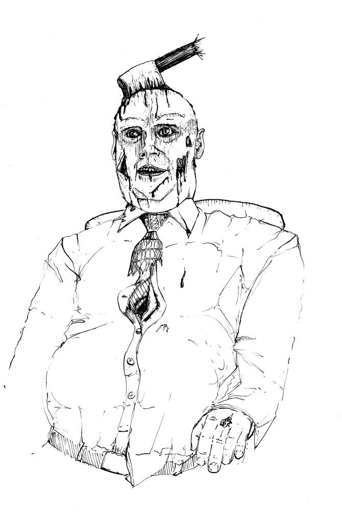 Zombie banker