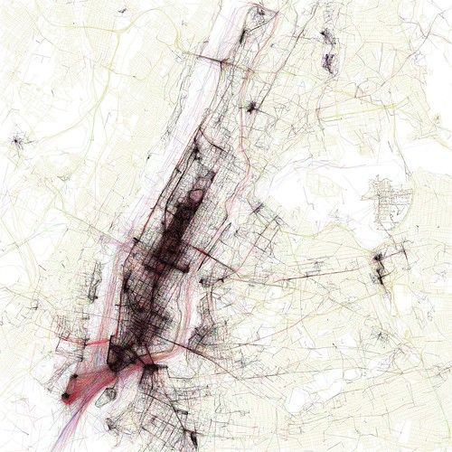 The Geotaggers' World Atlas #1: New York (by Eric Fischer)