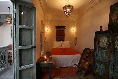 Foto do quarto da Riad Dar Thania em Marraquexe, Marrocos