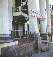 BH104 Lima Apartments, Bunker Hill, Los Angeles - Late 1950s.  This copyrighted photograph was taken by George Mann of the comedy dance team, Barto & Mann.jpg