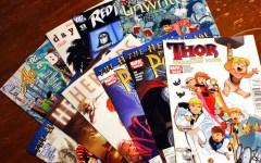 A selection of comics